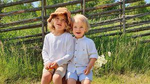Naturburschen: Neue Bilder der kleinen Schweden-Prinzen