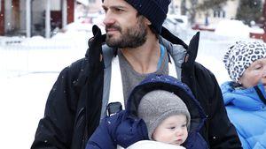 Hottie-Daddy! Prinz Carl Philip mit Sohn Gabriel auf Tour