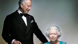 Prinz Charles und Queen Elizabeth II.