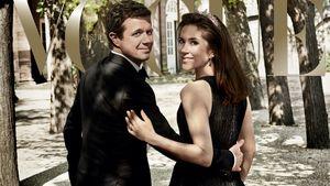 Prinz Frederik und Prinzessin Mary von Dänemark auf der Vogue Australia 08/16