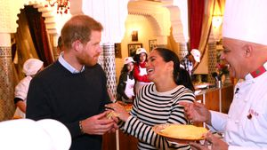 Zum Geburtstag: Prinz Harry soll seine Meghan bekocht haben