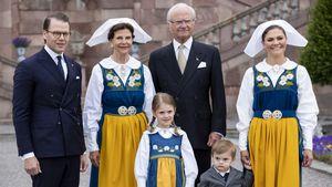 Prinz Oscar: Niedliches Grumpy-Comeback im grauen Anzug