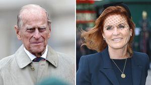 So dachte Prinz Philip über Schwiegertochter Sarah Ferguson
