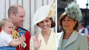 Während William und Kate reisen: Sie hütet George und Co.!