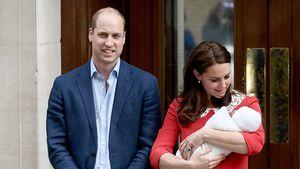 Was für ein Auftritt! William & Kate zeigen ihr drittes Baby