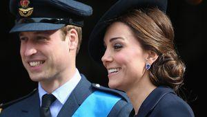 Prinz William und Herzogin Kate bei einem Gedenkgottesdienst in London