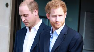 Prinz William und Prinz Harry in London