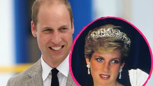 Prinz William und Prinzessin Diana