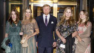 Königin Máxima verbringt glamourösen Abend mit ihrer Familie