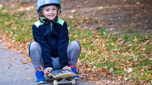 Flott unterwegs: Prinzessin Estelle wird zum Skater-Girl