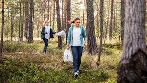 World Cleanup Day: Estelle und Victoria räumen Stockholm auf