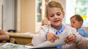 Schwedens Prinzessin Estelle: Erste Pics aus Klassenzimmer!