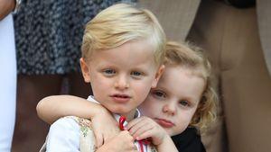 Schon so groß: Monaco-Twins strahlen am Nationalfeiertag!