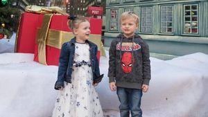 Monaco-Zwillinge feiern 4. Geburtstag mit Spiderman-Party