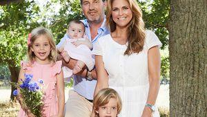 Süßes Fünfer-Foto: Madeleine von Schweden mit Mann & Kids!
