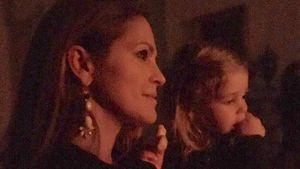Prinzessin Madeleine von Schweden und ihre Tochter Leonore beim Besuch des Luciafestes