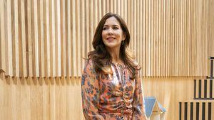 Blumiger Sommerlook: Prinzessin Mary strahlt in H&M-Kleid