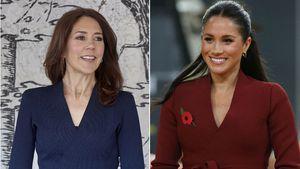 Prinzessin Mary trägt die gleiche Jacke wie Herzogin Meghan