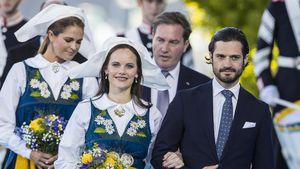 Prinzessin Sofia, Prinz Carl Philip, Prinzessin Madeleine und Chris O'Neill