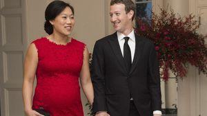 Stolzer Baby-Bauch: Mark Zuckerberg strahlt als Bald-Papa