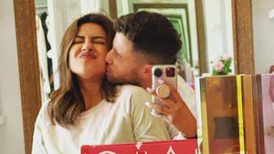 Priyanka und Nick Jonas feiern das Jubiläum ihrer Verlobung