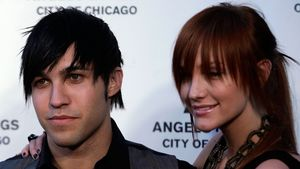 Pete Wentz und Ashley Simpson