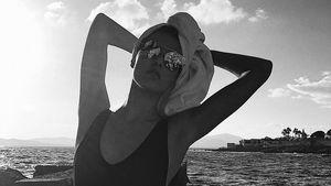 Traumbody: Rebecca Mir begeistert verrucht im Badeanzug!