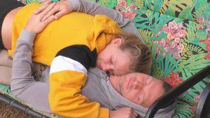 """Big Brother""Frühlingsgefühle: Becci und Philipp kuscheln"