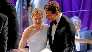 Süße Reunion: Renée Zellweger plaudert mit Ex Bradley Cooper