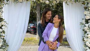 Bei Hochzeit: Clea-Lacy teilt Turtelbild mit ihrem Riccardo