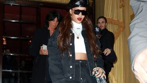Rihanna während der Paris Fashion Week