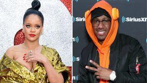 Model-Pics: Rihanna erhält flirty Kommentar von Nick Cannon!