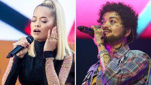 Kaum erkannt: An Halloween geht Rita Ora als DIESER Rapper!