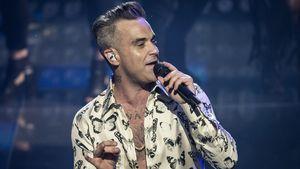Robbie Williams bei einem Konzert in London 2016