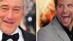 Robert De Niro schickt 12 Pizzen an Bradley Cooper