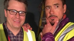 Cool! Robert Downey Jr. zeigt 1. Foto vom Filmset