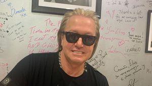 Blondiert und geföhnt: Robert Geiss strahlt beim Friseur