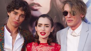 Lily Collins, Jamie Campbell Bower und Robert Sheehan