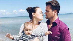 Rocco Stark mit seiner Freundin und seiner Nichte