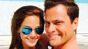 Rocco Stark und Angelina Heger mit Sonnenbrille