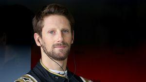 Nach Horror-Crash: Formel-1-Star Grosjean zeigt Verletzung