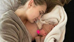 """""""So glücklich"""": Romee Strijd ist erstmals Mutter geworden"""