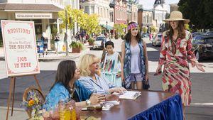 Rory und Lorelai mit Babette und Miss Patty
