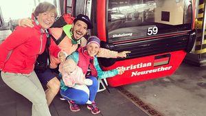 Drei Generationen! Felix Neureuther mit Family unterwegs