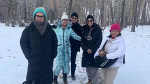 Winter-Family-Pic von Demi Moore: Darum gibt's dafür Kritik