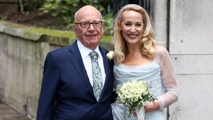 """Kirchliche Trauung: Rupert Murdoch & Jerry Hall sagen """"Ja"""""""