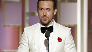 Ryan Gosling bei seiner Dankesrede bei den Golden Globes 2017