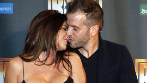 "Sabia Boulahrouz und Rafael van der Vaart bei der ""We Will Rock You""-Premiere in Hamburg"