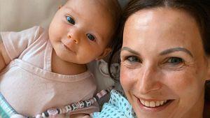 Sabrina Mockenhaupt zeigt zum ersten Mal Gesicht ihres Babys