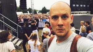 """Sänger Oli P. beim """"Rote Rosen""""-Fantag 2017"""
